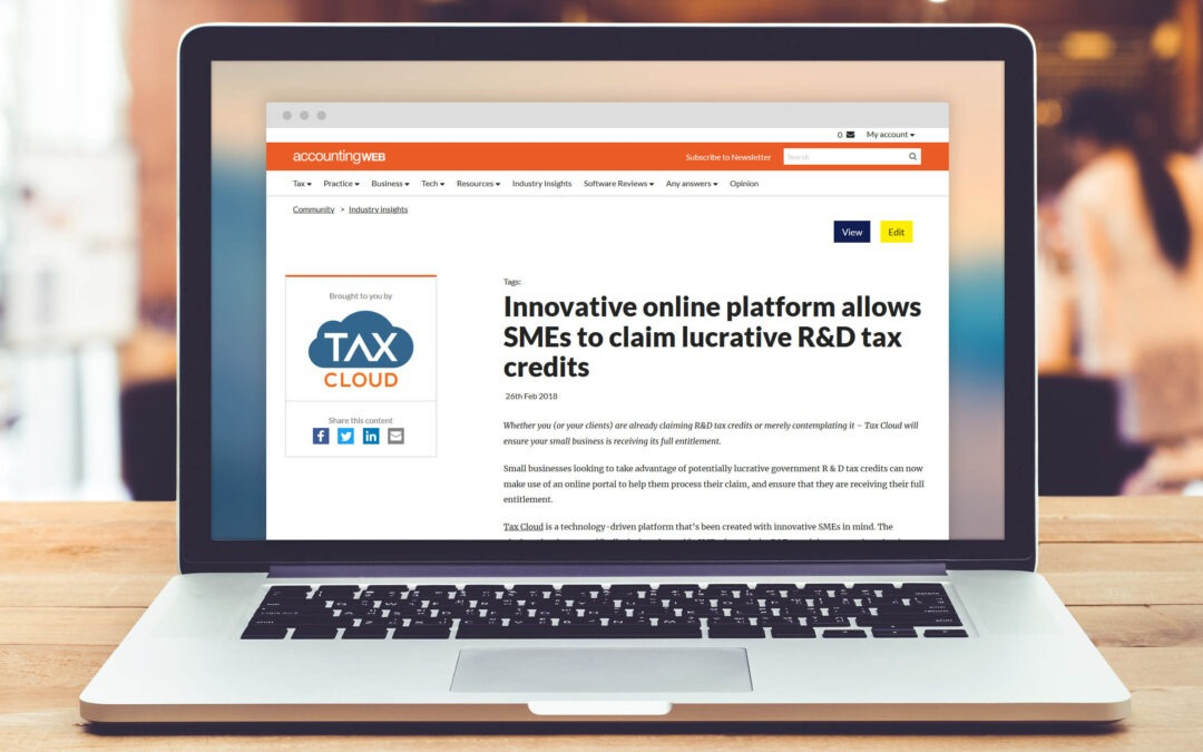 Tax Cloud announced itself to the accounting world with AccountingWEB's Insight Exchange